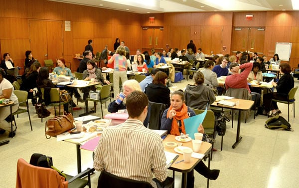 AHRC NYC professionals train to learn more about methods for educating people with Autism and Challenging behaviors