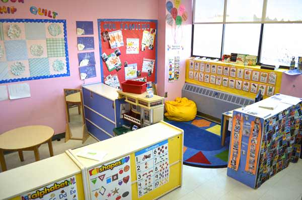 TEACCH classroom used to educate students with Autism and Challenging behaviors
