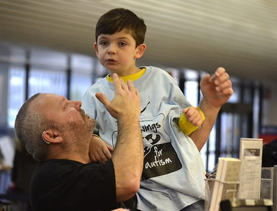 Wings for Autism was an uplifting experience for the families of AHRC NYC's schools